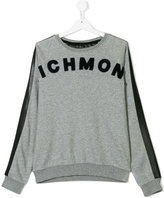 John Richmond Kids towel logo sweatshirt