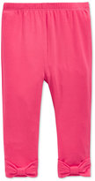 First Impressions Bow Leggings, Baby Girls, Only at Macy's