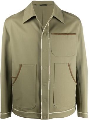 Fendi Trimmed Work Jacket