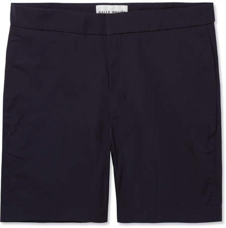 Privee SALLE Ivar Slim-Fit Mid-Length Swim Shorts