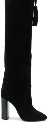 Saint Laurent Meurice tasseled boots