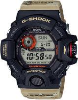 G-Shock Men's Solar Digital Rangeman Beige Camouflage Resin Strap Watch 54x55mm GW9400DCJ-1