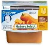 Gerber 1st Foods Nature Select Squash (2-Pack)