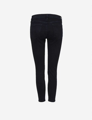 J Brand 835 Mid-Rise Skinny Stretch-Denim Jeans