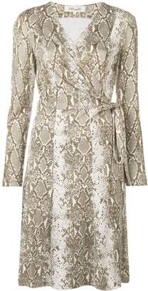 Python print wrap-front dress