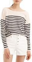 J.Crew J. CREW Penny Stripe Merino Wool Sweater