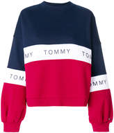 Tommy Hilfiger colour blocked logo sweater