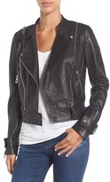 Rudsak Women's Double Zip Moto Leather Jacket