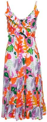State Of Georgia The Georgia Original Beach Dress In Cactus Pink