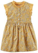 Carter's Baby Girl Yellow Floral Dress