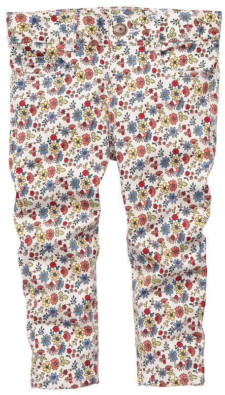 Osh Kosh floral twill pants - toddler
