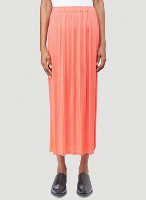 Pleats Please Issey Miyake Classic Pleated Skirt
