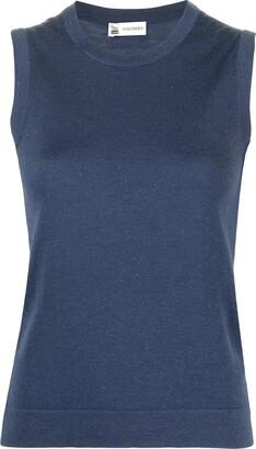 Colombo Lurex Knit Vest