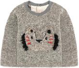 Catimini Graphic wool blend sweater