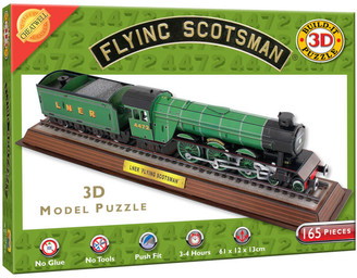 Build it 3D Scotsman Puzzle