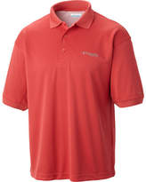 Columbia Men's Perfect Cast Polo - Sunset Red Polo Shirts