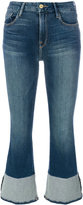 Frame cropped jeans - women - Cotton/Polyester/Spandex/Elastane - 25