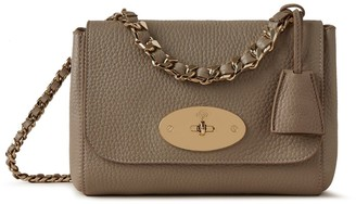 Mulberry Top Handle Lily Solid Grey Heavy Grain