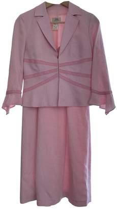 Gerard Darel Pink Linen Dress for Women