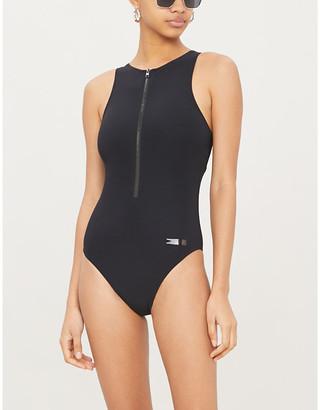 Calvin Klein Signature one-piece swimsuit