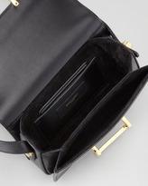 Saint Laurent Small Lulu Shoulder Bag, Black