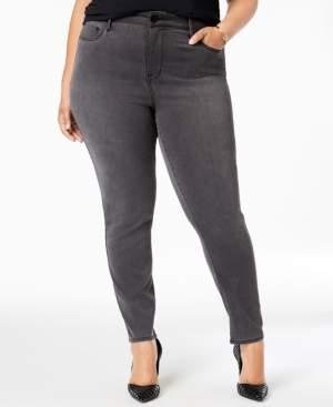 Seven7 Jeans Trendy Plus Size Denim Ankle Leggings