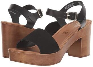 Seychelles Jump For Joy (Black Suede/Leather) Women's Shoes