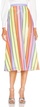 Olivia Rubin Penelope Skirt in Resort Stripe | FWRD