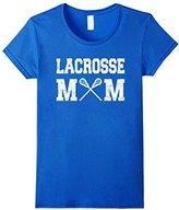 LaCrosse Women's Mom Shirt: Proud Mother Fan Gift T-Shirt Large