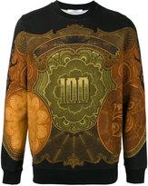 Givenchy dollar print sweatshirt
