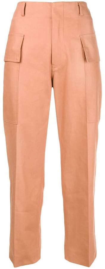 Sofie D'hoore cargo cropped trousers