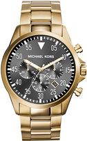 MICHAEL Michael Kors 45mm Gage Men's Chronograph Watch, Gold