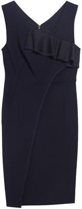 DKNY Ruffle Front Woven Dress