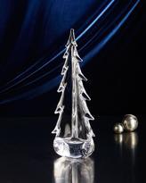 """Simon Pearce Evergreen 14"""" Glass Tree"""