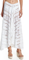 Letarte Embroidered Lace Coverup Skirt