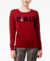 Ultra Flirt Juniors' Paris Graphic Sweater