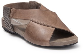 Antelope Crisscross Leather Slingback Sandal