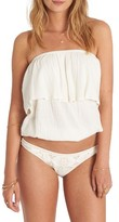 Billabong Women's Take On Woven Tube Top