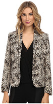 Vince Camuto One Button Animal Legacy Blazer