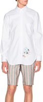 Thom Browne Classic Button Down Shirt with Palace Embroidery