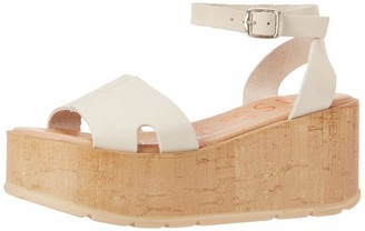 Musse & Cloud Women's Ankle Strap Wedge Sandal