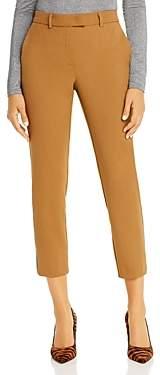 Marella Persia Cropped Metallic Stripe Pants