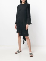 Chloé ruffled asymmetric dress