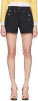 Dolce & Gabbana Navy Front Button Shorts
