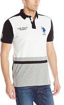 U.S. Polo Assn. Men's Black Mallet Polo Shirt
