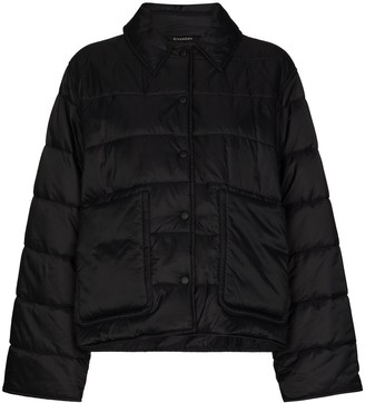 Givenchy Padded Press-Stud Jacket