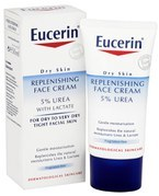 Eucerin Dry Skin Replenishing Face Cream 5% Urea with Lactate (50ml)