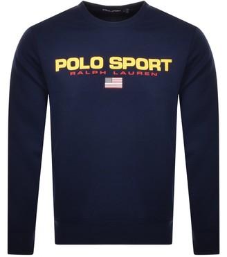 Ralph Lauren Polo Sport Knit Jumper Navy