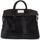 Maison Margiela '5ac' tote - women - Cotton/Calf Leather/Goat Skin - One Size