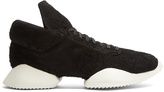 Rick Owens X Adidas Vicious Runner low-top suede trainers
